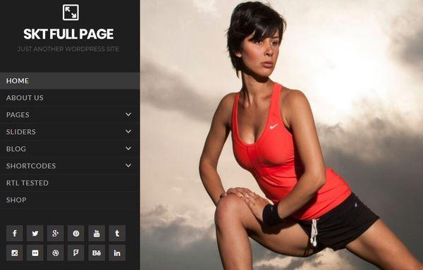 Full Page Pro – SKT Page Builder WordPress Theme