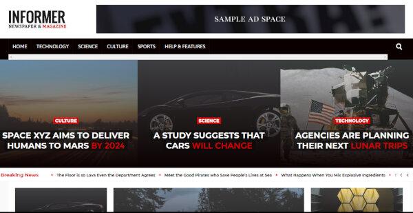 Informer – Multilingual WordPress Theme