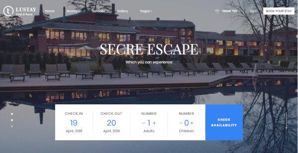 Traveler – Booking Engine WordPress Theme