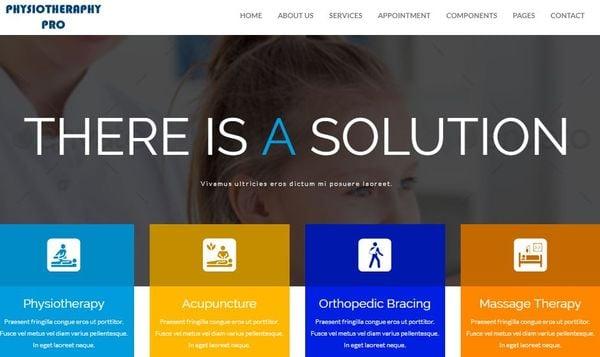 PhysiotherapyPro – Responsive WordPress Theme