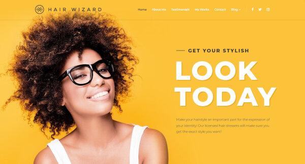 Hair Stylist -Well Documented WordPress Theme
