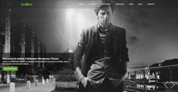 Jedkey – Fully Customizable WordPress Theme