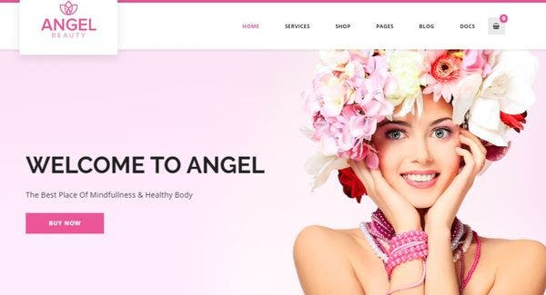 Angel – Custom Widget WordPress Theme