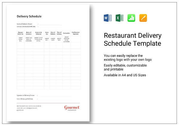 658 restaurant delivery schedule 1