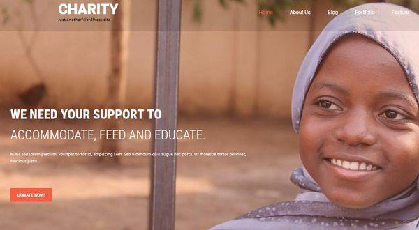 SKT Charity Pro – Easy-to-Customize WordPress Theme