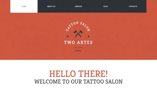 7 quality tattoo artistry – bootstrap wordpress theme