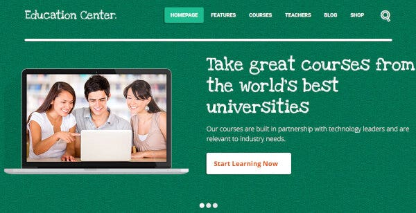 Education Center – LearnDash WordPress Theme
