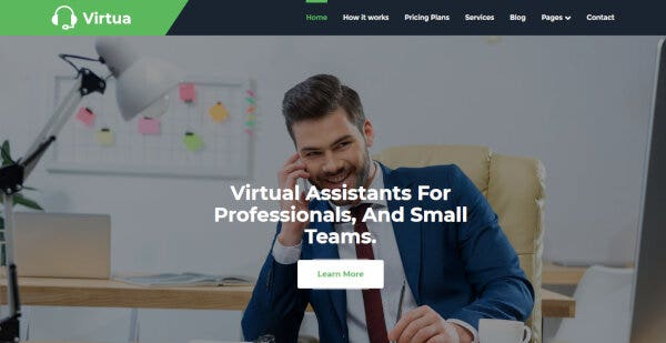 Virtua – Bootstrap Framework WordPress Theme