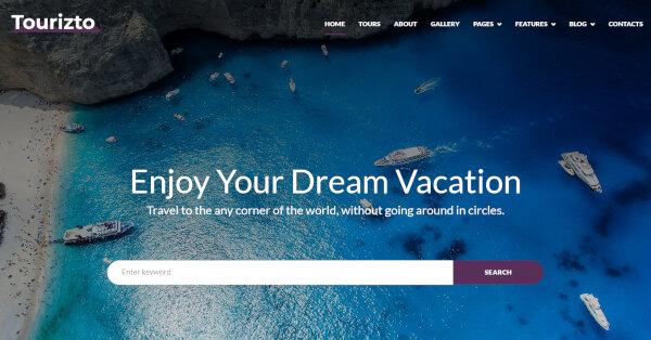 Tourizto – Elementor Page Builder WordPress Theme