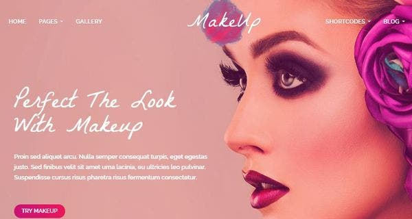 MakeUp – Visual Composer WordPress Theme