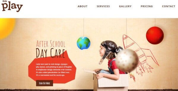 8 demo kids play kindergarten wordpress theme1