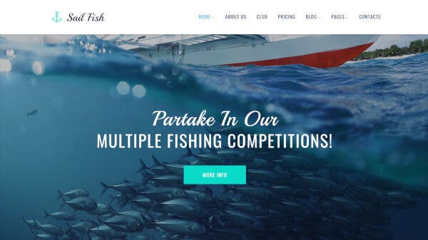 Sail Fish-Multiple Layout Supported WordPress Theme