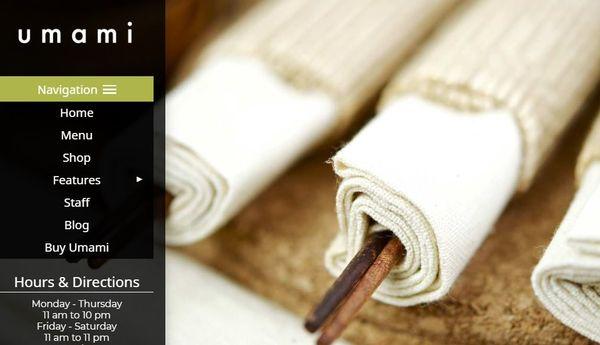 Umami – Mobile-ready WordPress Theme