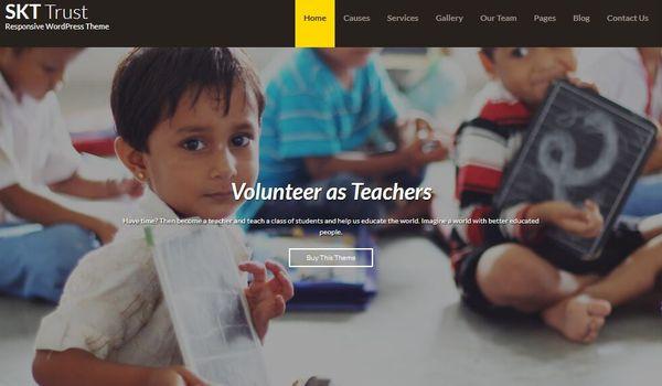 SKT Trust Pro – Contact Form Compatible WordPress Theme