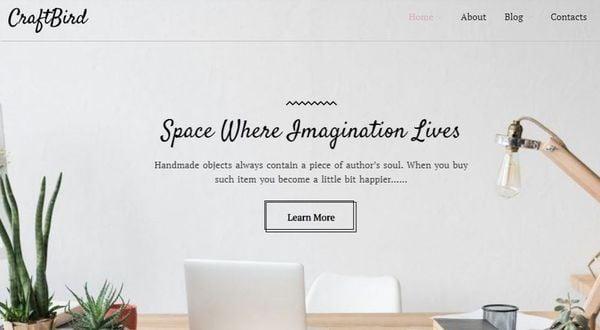 CraftBird – Newsletter Compatible WordPress Theme