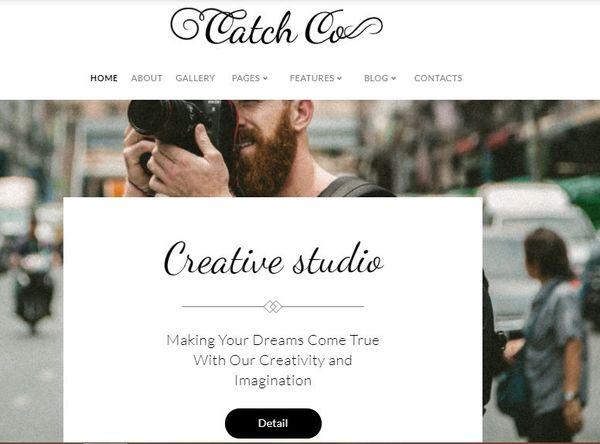 Catch Co – JetElements Powered WordPress Theme