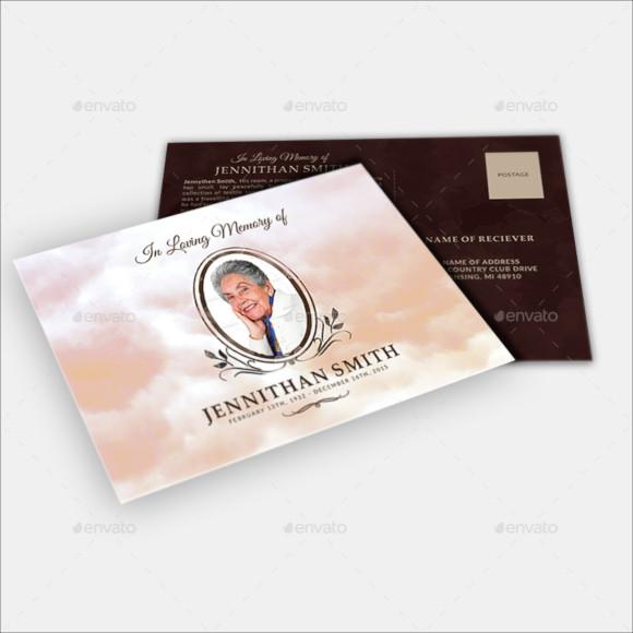 9-memorial-service-postcard-design