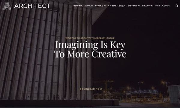 Architect – One-Click Demo WordPress Theme
