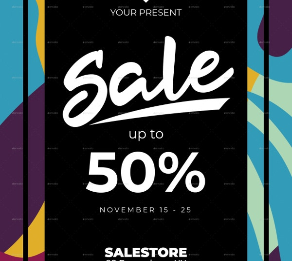 abstract-sale-flyer