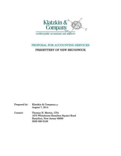 accounting proposal 1