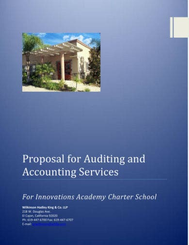 accounting and audit proposal 01