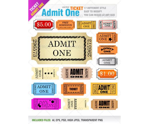 admit-one-ticket-in-psd