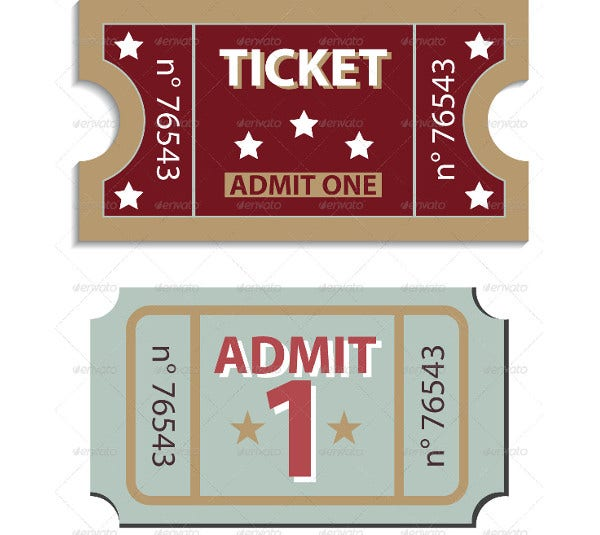 admit-one-tickets-template
