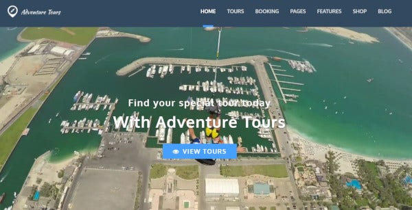adventure tours woocommerce ready wordpress theme