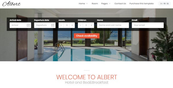 albert – responsive wordpress theme