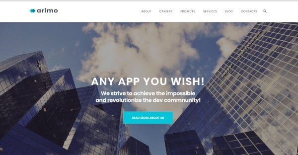 arimo search engine optimized friendly wordpress theme