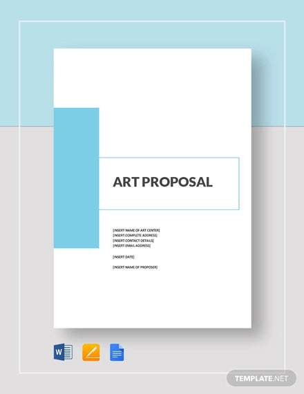 art proposal template