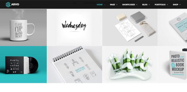 arvo wpml wordpress theme
