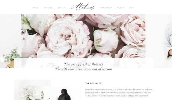 atelier – custom wordpress theme1