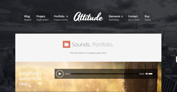 attitude intuitive framework wordpress theme