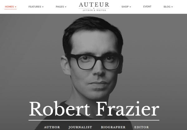 auteur-gutenberg-optimized-wordpress-theme