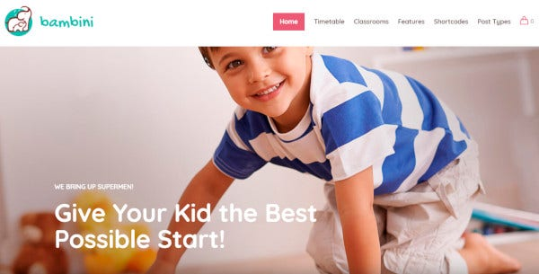 bambini-99-shortcodes-wordpress-theme