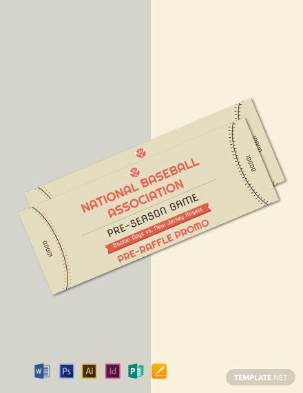 baseball raffle ticket template1