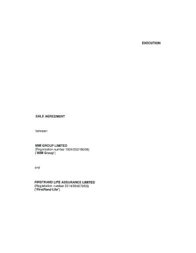 basic business sale agreement
