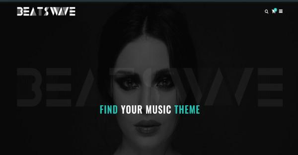 beatswave retina ready creative music wordpress theme