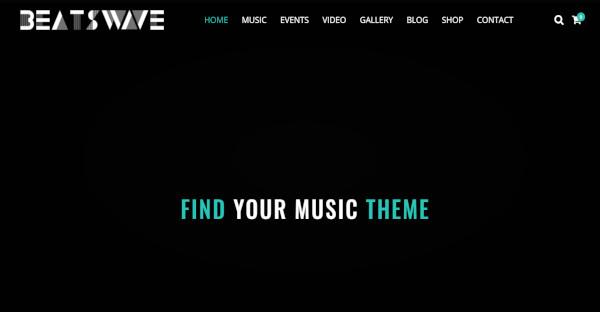 Beatswave - WPBakery Page Builder WordPress Theme