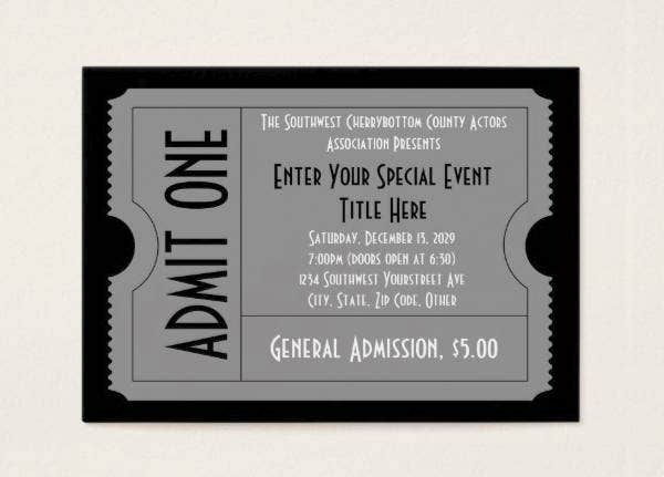 black-and-white-event-ticket