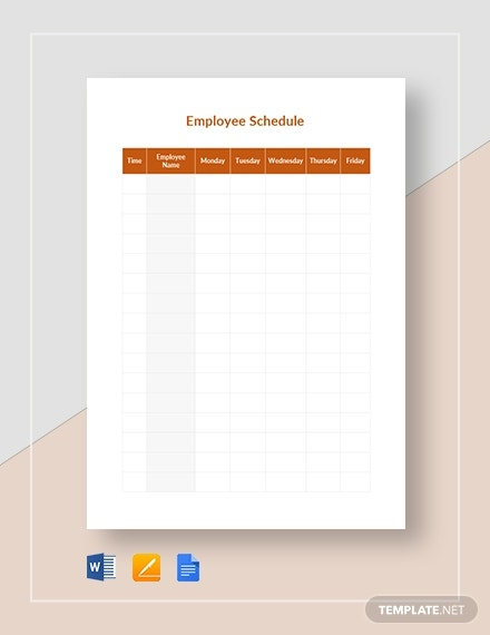 blank daily schedule1
