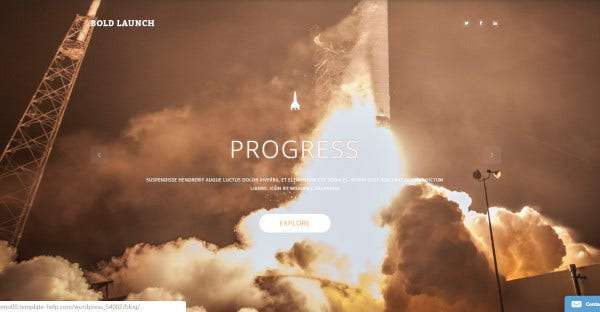 Bold Launch - WPML Ready WordPress Theme