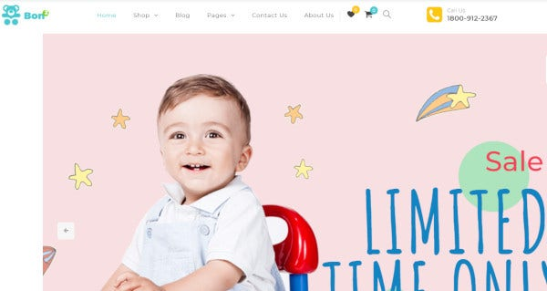 bonbon woovina based wordpress theme