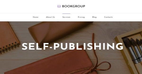 Book Group - Multilingual WordPress Theme