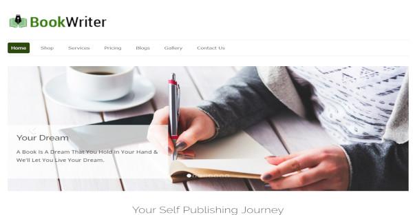 Book Writer - CSS3 WordPress Theme