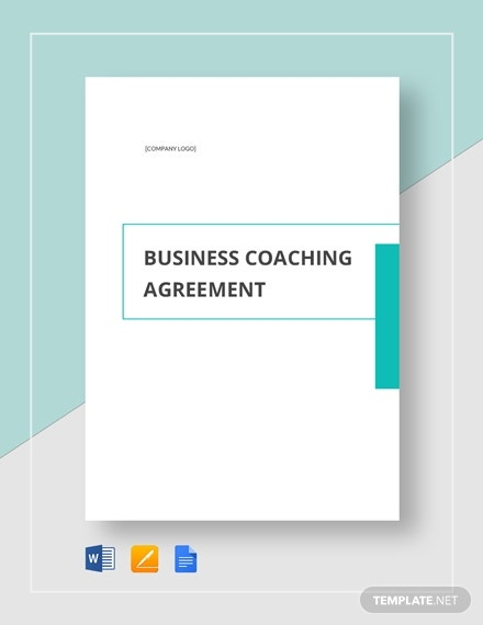 business coaching agreement 2