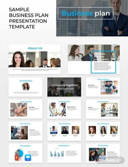 business plan powerpoint presentation design