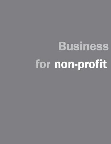 business planning for nonprofit