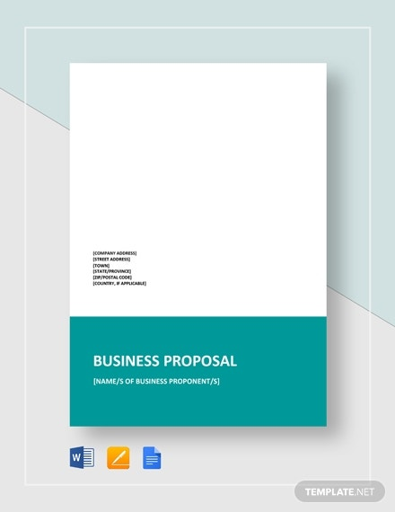 business proposal format1